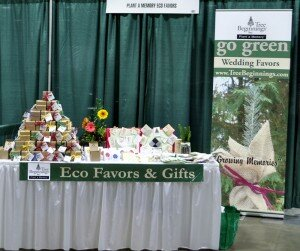 Bridal Show - Plant a Memory Booth
