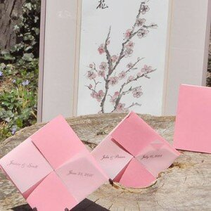 Cherry Blossom Seed Favors