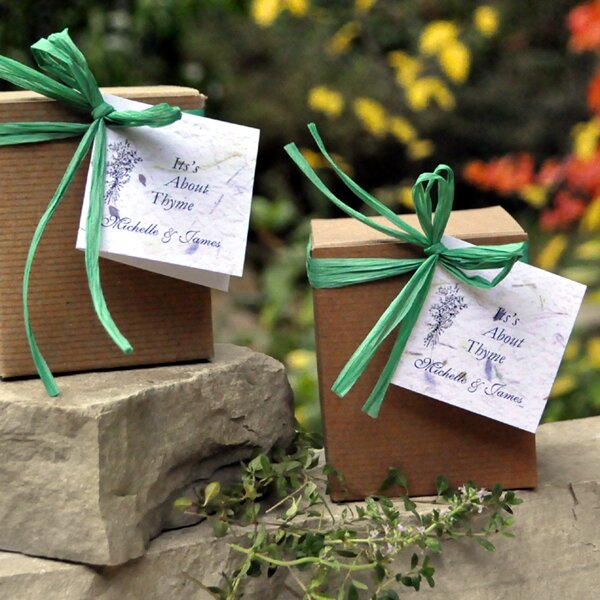 Plant Fall Wedding Favors Plant A Memory Favors Gifts