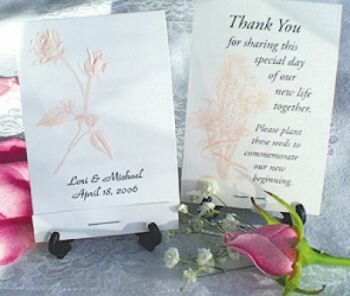 The Rose Wedding Favors
