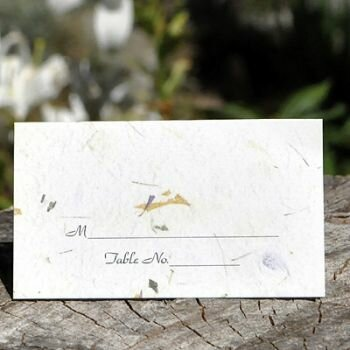 Earth's Garden / Evergreen Place Card