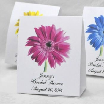 Bridal Shower Gerber Daisy Favors