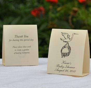 Baby Shower Favors -Stork & Baby Feet