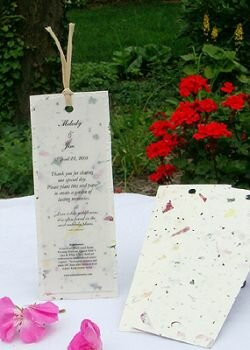 Wildflowers - Plantable Seeded Bookmark