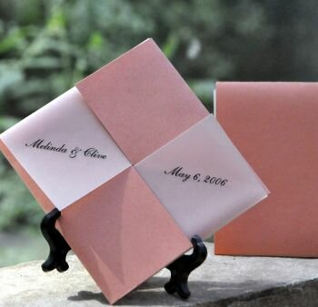 Coral Garden Wedding Favors