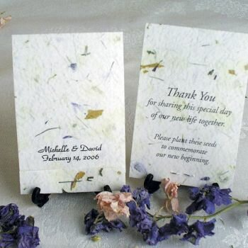 Earth's Garden Seed Favors