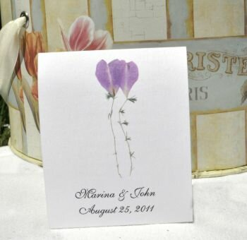 Floating Flowers Wedding Favors