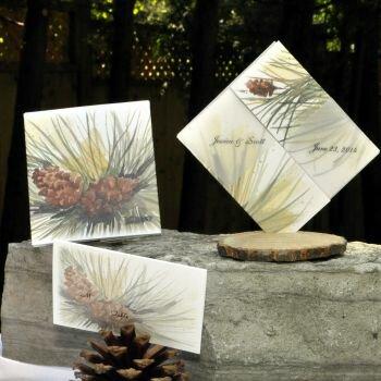 Pine Cones Secret Seed Favors