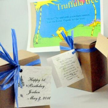The Lorax Tree Birthday Party Favors